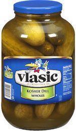 Vlasic 1 gal. pickles jar