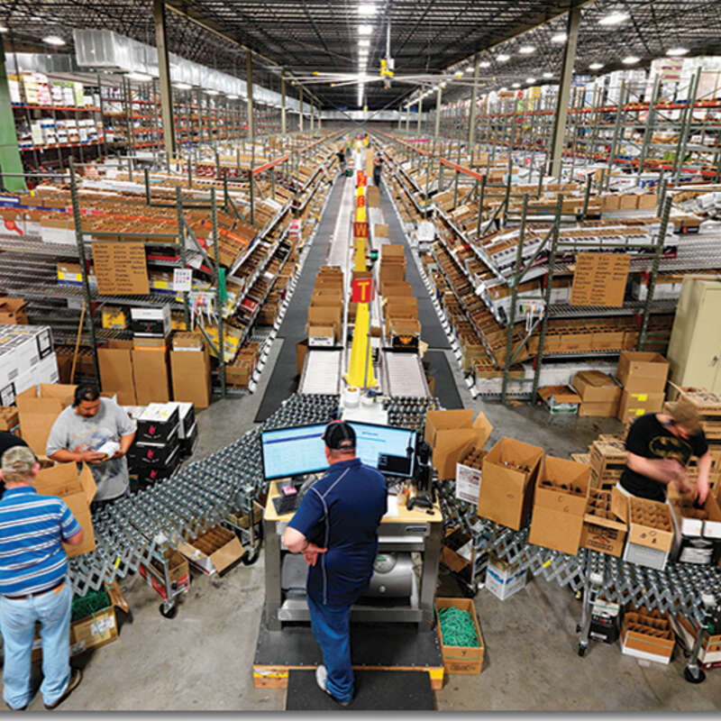 Warehouses - Real Estate and Automation